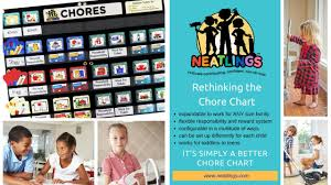 Neatlings Chore Chart Chore Charts For Kids Neatlings Chore Card System Overview
