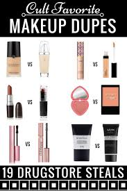 the ultimate guide to makeup dupes most under 10 from foundation dupes to eyeshadow paletteascaras to lipstick dupes you have