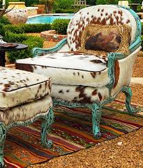 chair fabric chairs western maybe not in cow hide but a fun fabric with the bold paint if your hom