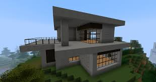 Small Picture Ruked On Minecraft Modern House Minecraft Pinterest Modern