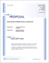 Hotel Facilities Services Sample Proposal 5 Steps