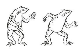 鳥獣人物戯画 クリスマスハロウィンお正月イラストevents Design