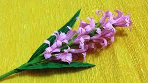 Make Crepe Paper Flower How To Make Crepe Paper Flowers Flower Making Of Crepe Paper