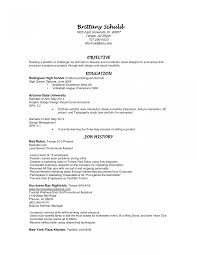 Resume Waitress Example How To Write With A Server Special Skills