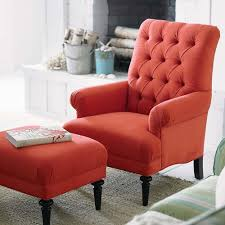 Orange Living Room Chair Awesome Red Accent Chair Living Room For Interior Designing House