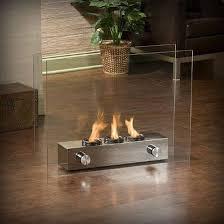 portable indoor gel fireplace