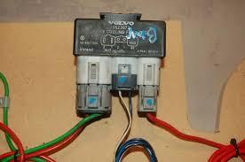 wiring 2 speed fan volvo relay