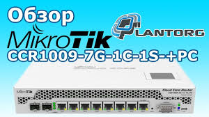 Обзор <b>MikroTik CCR1009</b>-<b>7G</b>-<b>1C</b>-1S-+<b>PC</b> (unboxing and review ...