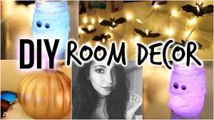 diy halloween room decor youtube