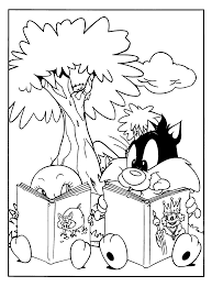 Unusual Looney Tunes Coloring Pages To Print Ideas Entry Level