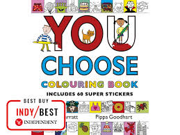 you choose colouring book 5 99 amazon this fun packed book for children
