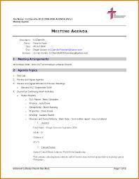 Staff Meeting Agenda Template Staff Meeting Agenda Template Letter Format Template 9