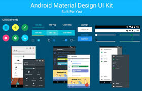Android Material Design Ui Kit Free Psd