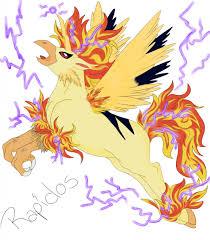 Pokemon Fusion #1: Rapidos by AvisWolf -- Fur Affinity [dot] net