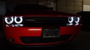 2014 Challenger Lights 2014 Dodge Challenger Custom Rgb Halo Headlights