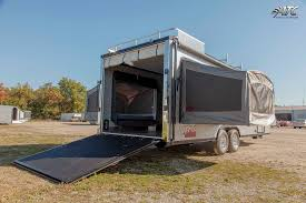 2016 atc toy hauler with living quarters package by atc trailers