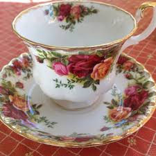 Rose Pattern China Unique Shop Vintage Rose Pattern China On Wanelo