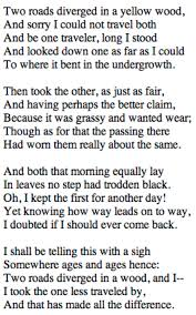 the road not taken robert frost thunder and threads the road not taken 1915 robert frost