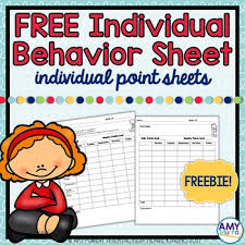 Free Printable Adhd Behavior Charts Adhd Behavior Charts Worksheets Teaching Resources Tpt