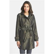 london fog women s iridescent double ted trench coat