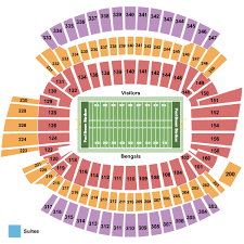 Browns Seating Chart 2017 Cincinnati Bengals Vs Baltimore Ravens Thursday September