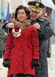 Gov. Gina Raimondo is sworn in as Rhode ...