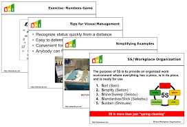 5s Lean Manufacturing And Six Sigma Definitions