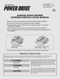 control4 garage door opener inspirational chamberlain garage door opener manual