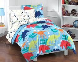 little boy bedding sets dinosaur blue bedding little boys comforter set twin blue bed in a bag ensemble toddler boy bedding sets