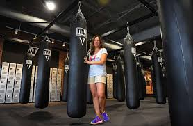 owner jen fallot at the le boxing club in ord conn on thursday september