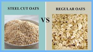 steel cut oats vs regular oats