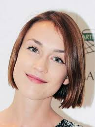 short straight haircut for fine thin hairstyle