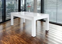 Esstisch Weiß Hochglanz Mit Glasplatte