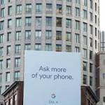 Google Billboard Suggests Phone Event on October 4