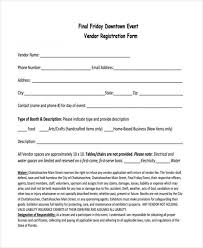 7 Event Registration Form Samples Free Sample Example Format