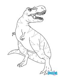 Coloriages Tyrannosaure Fr Hellokids Com