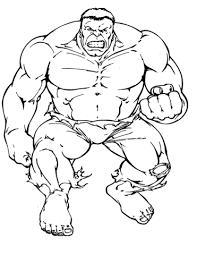 Boze Hulk Kleurplaat Gratis Kleurplaten Printen
