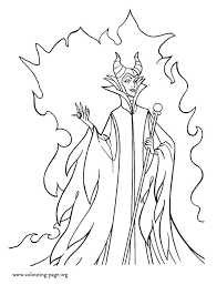 Small Picture Maleficent Powerful Maleficent coloring page