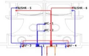 Pex Pipe Volume Chart Designing And Sizing With Pex Pipe Plumber Magazine