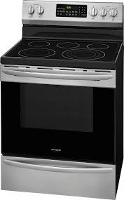 frigidaire gallery 5 7 cu ft self cleaning freestanding electric convection range black fgef3059tf best