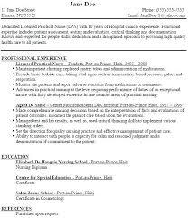 Lpn Resumes Templates Resume Skills Ultimate Sample Practical