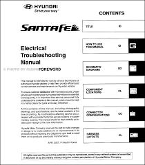 2008 hyundai santa fe electrical troubleshooting manual original 2005 hyundai santa fe monsoon wiring diagram at 2004 Hyundai Santa Fe Radio Wiring Diagram