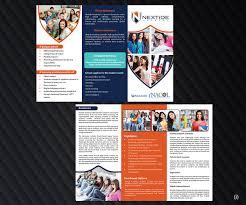 school brochure design ideas modern conservative education brochure design for a