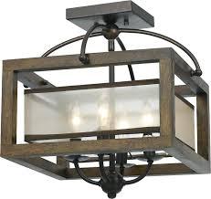wood ceiling lighting. Mission Ceiling Light Cal Wood Lighting Loading Zoom Flush Tiffany Semi I