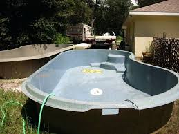 fiberglass swimming pools inches deep diy fiberglass pool fiberglass swimming pools inches deep each pool diy a do it yourself fiberglass swimming pool