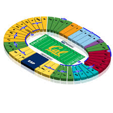 Uc Berkeley Football Stadium Seating Chart Tickets California Golden Bears Football Vs Oregon State