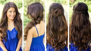 Cute Easy Medium Hairstyles Back Post Cute Easy Hairstyles For Long Hair Medium Hair Styles