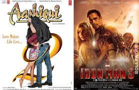 box office iron man 3 overtakes aashiqui 2 in the opening weekend aashiqui 2 beats iron man