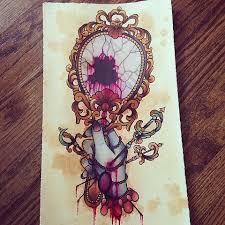 hand mirror sketch. Interesting Mirror Mirror And Hand Sketch By Sydney Dyer With Hand Sketch
