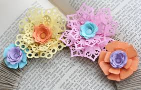 Paper Punches Flower Paisley Patterns Making Paper Flowers Great Projects Fiskars